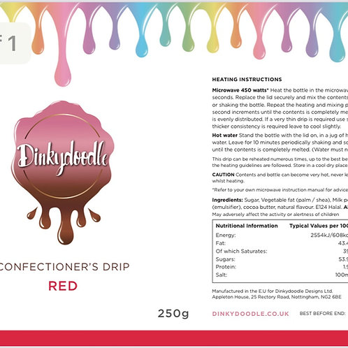 Red - Confectioner's Drip