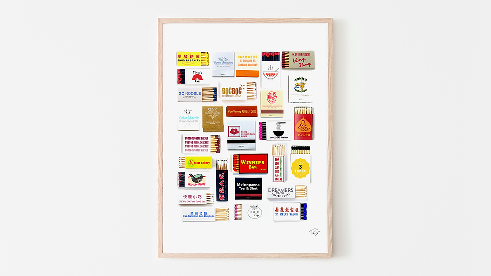 Send Chinatown Love X MYM Matchbook Print