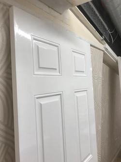 Glossed door