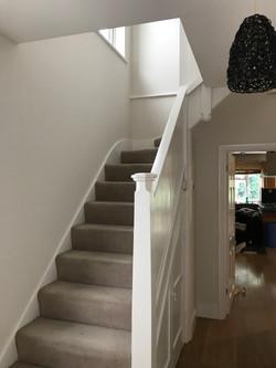 """Stairwell in """"Summer Linen"""""""