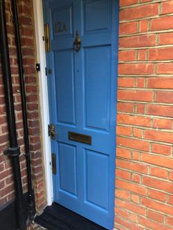Refreshed front door