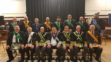 Lodge Kajaki 1848 Consecration