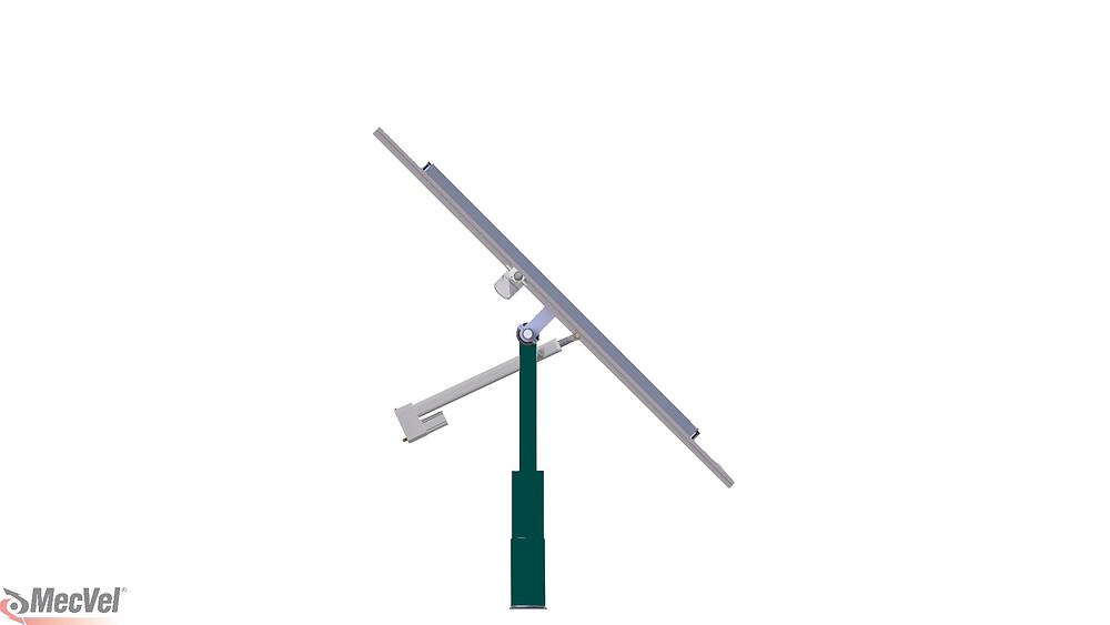 actuador lineal eléctrico HP5 de MecVel para industria fotovoltaica