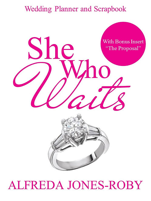 She Who Waits Wedding Planner & Scrapbook