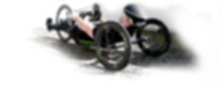 Blade Custom, carbon handbike Kooma