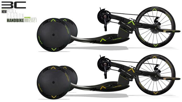 Blade Custom handbike