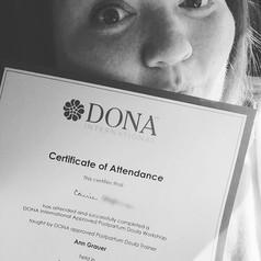 One step closer!!! Doula workshop ✅ #let