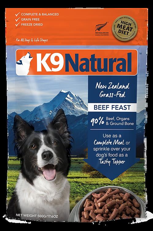K9 Natural Beef 500g / 1.8kg / 3.6kg