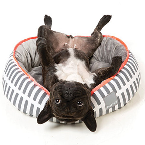 FuzzYard Reversible Dog Bed - Alcatraz