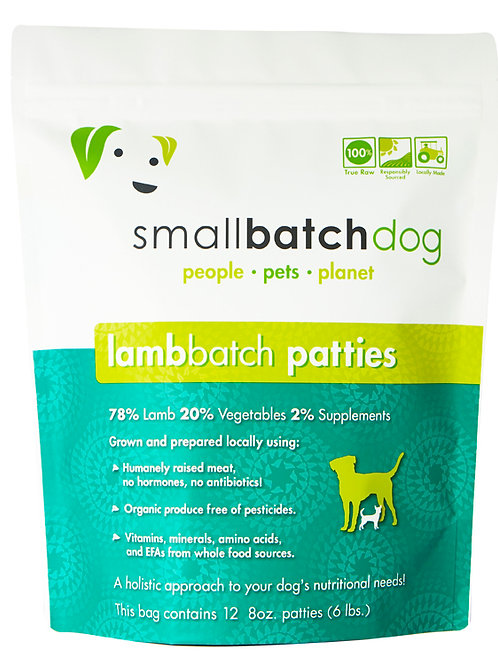 SmallBatch LambBatch Sliders 14oz