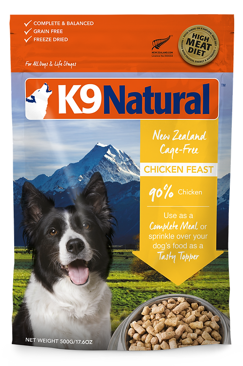 K9 Natural Chicken 350g / 1.8kg