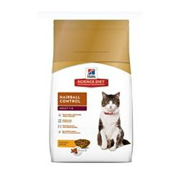 Science Diet Feline Hairball Control Adult 1-6 4kg (8.8lbs) 10300HG