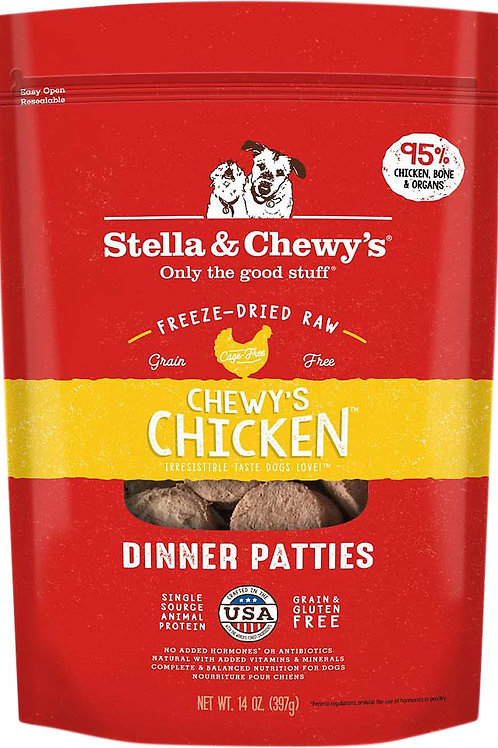 Stella & Chewy's Freeze-dried Chicken 14oz