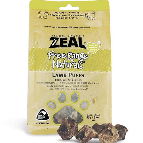 Zeal Lamb Puffs 125g