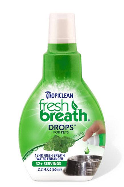 TropiClean's Fresh Breath Drops 65ml