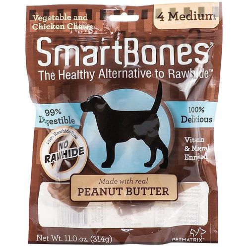 Smartbones Peanut Butter 4 Medium Bones