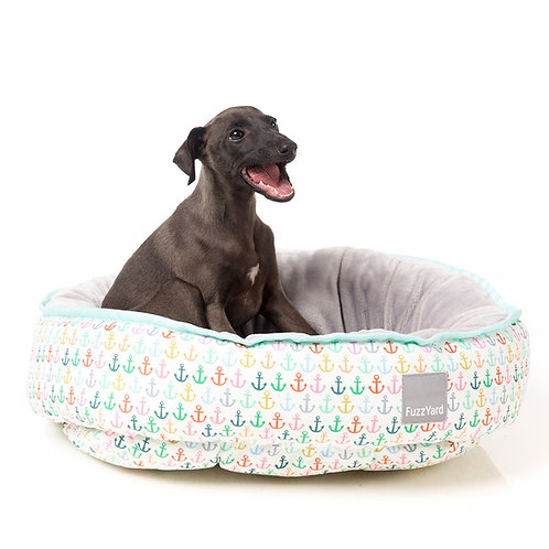 FuzzYard Reversible Dog Bed - Ahoy!