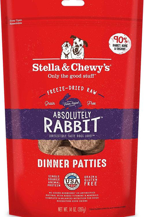 Stella & Chewy's Freeze-dried Rabbit 14oz