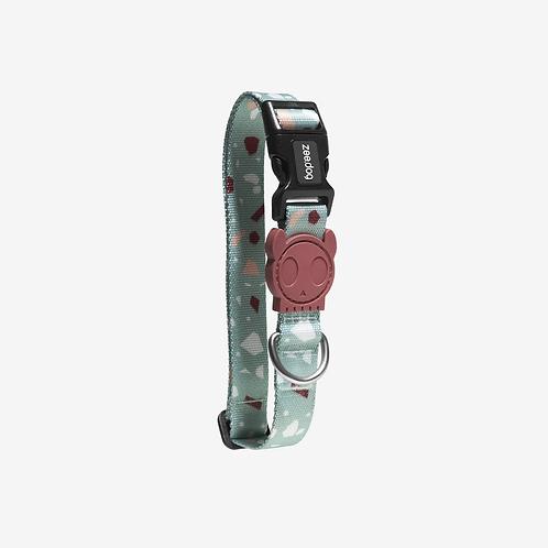 Zee.dog Terrazzo Green Dog Collar