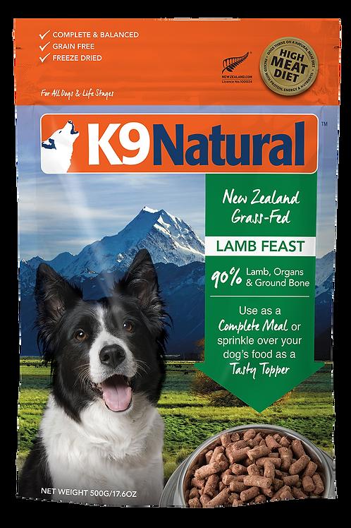 K9 Natural Lamb 500g / 1.8kg / 3.6kg