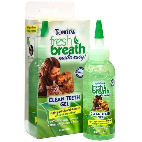TropiClean's Clean Teeth Gel 4oz