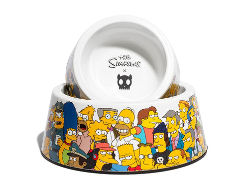 Zee Dog X The Simpsons Bowl