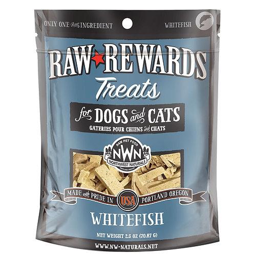 Northwest Natural Raw Rewards Freeze-Dried Whitefish