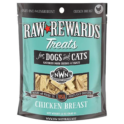 Northwest Natural Raw Rewards Freeze-Dried Chicken Breast 3oz