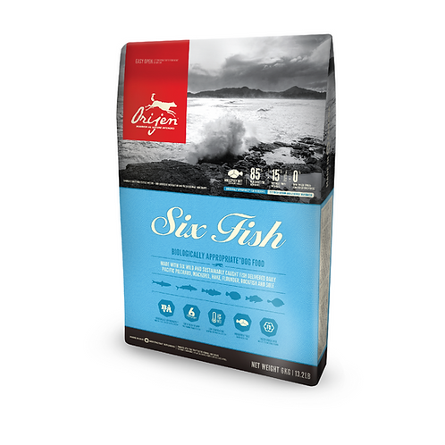 Orijen Six Fish Dog 2kg