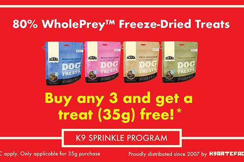 Acana Freeze-Dried Treats 35g Promo