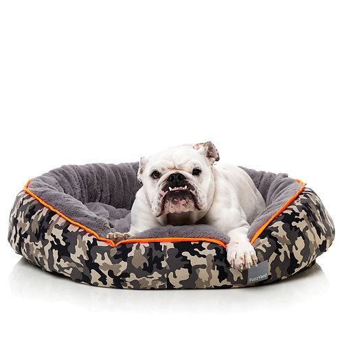 FuzzYard Reversible Dog Bed - Camo