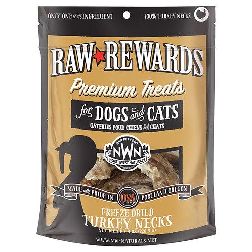 Northwest Natural Raw Rewards Freeze-Dried Chicken Neck 6oz