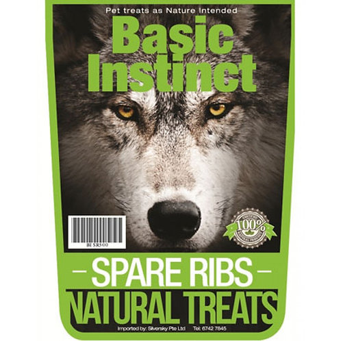 Basic Instinct Spare Ribs 500g