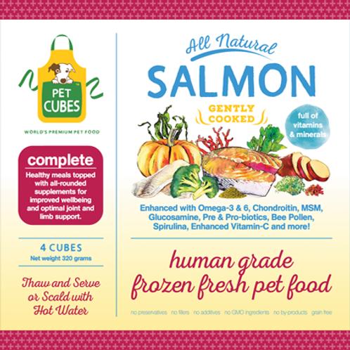 Pet Cubes Complete Salmon & Sardines