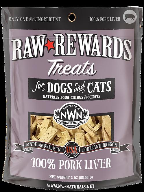 Northwest Natural Raw Rewards Freeze-Dried Pork Liver