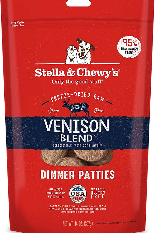 Stella & Chewy's Freeze-dried Venison 14oz