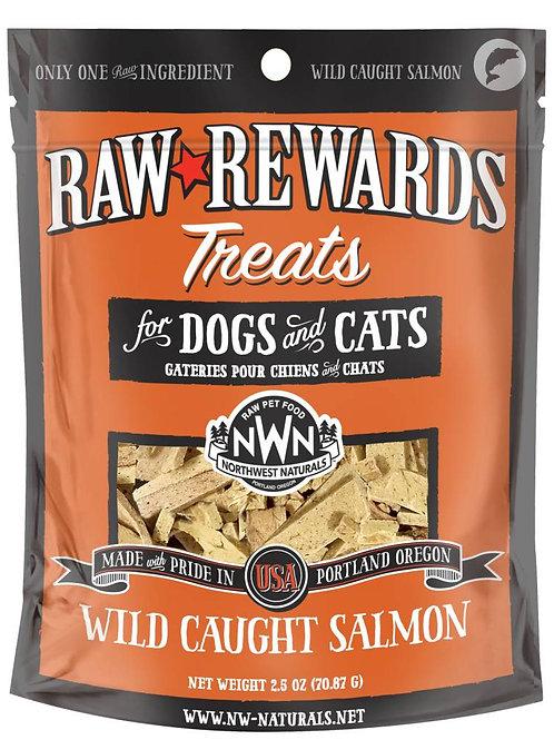 Northwest Natural Raw Rewards Freeze-Dried Salmon