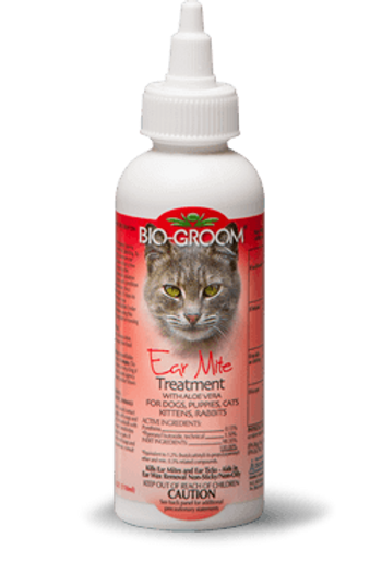 Bio Groom Ear Mite Treatment 4oz