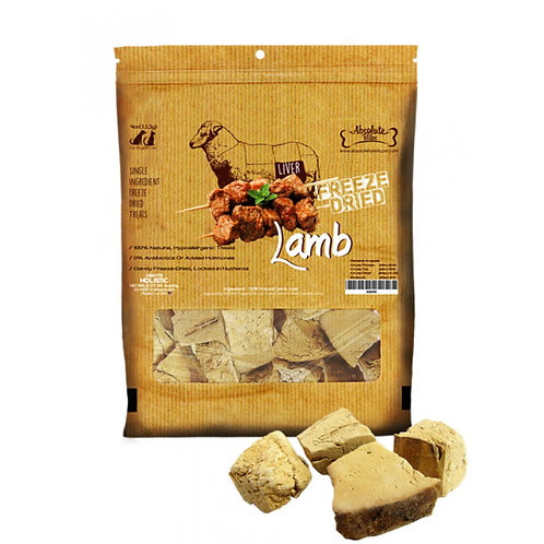 Absolute Bites Freeze Dried Lamb 4oz