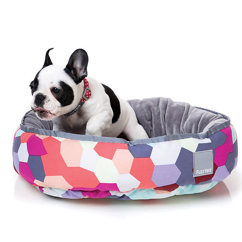 FuzzYard Reversible Dog Bed - Kaleidoscope