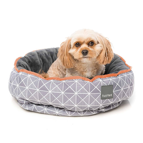 FuzzYard Reversible Dog Bed - Mid Town
