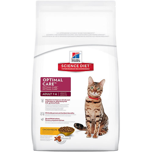 Science Diet Feline Adult 4kg (8.8lbs) 10298HG