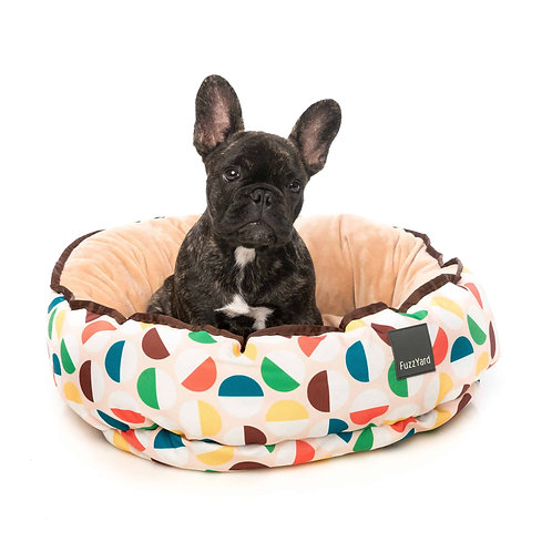 FuzzYard Reversible Dog Bed - Polka Polka