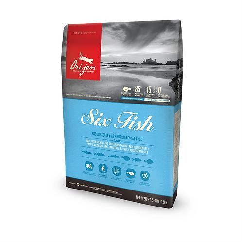 Orijen Six Fish Cat 5.4kg