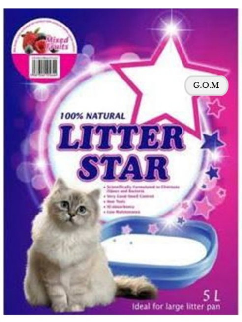 Litter Star Unscented 5L