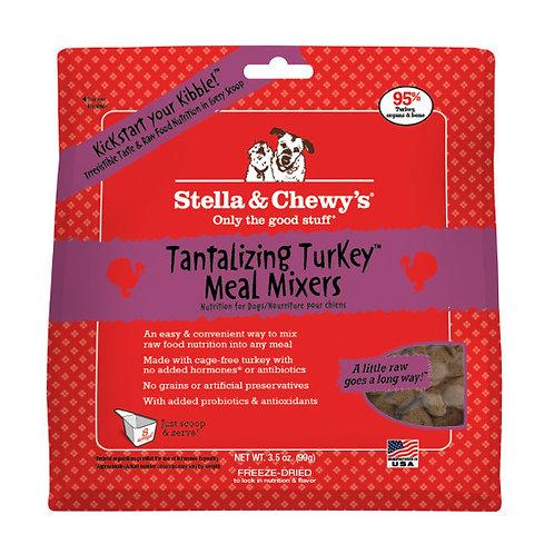Stella & Chewy Freeze Dried Tantalizing Turkey Meal Mixers 9oz