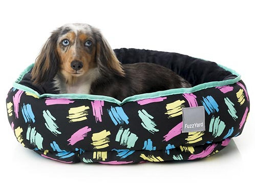 FuzzYard Reversible Dog Bed - Chalkboard