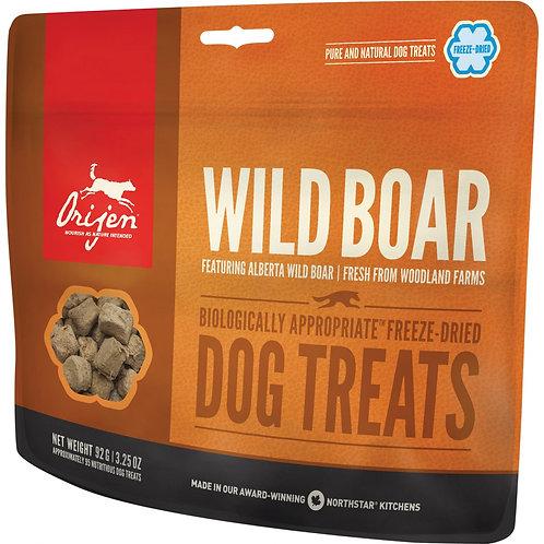 Orijen Freeze Dried Dog Treats Wild Boar 92g