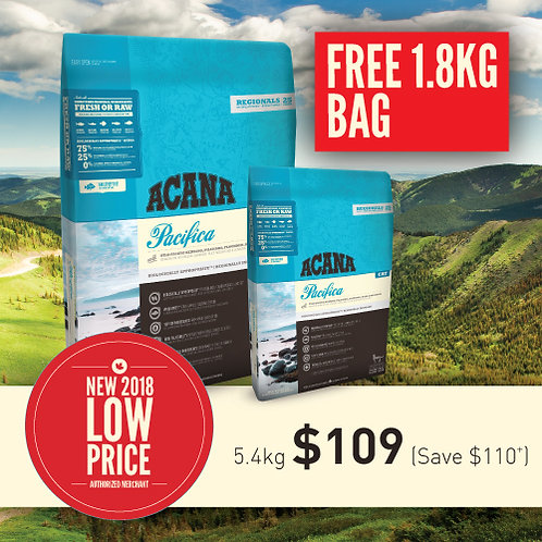 Acana Pacifica for Cats 5.4kg