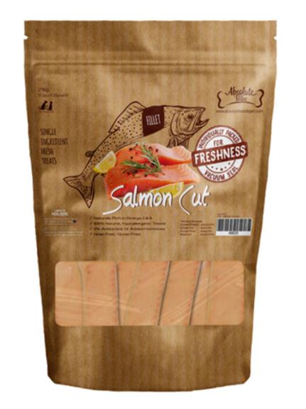 Absolute Bites Salmon Cut Fresh Dog & Cat Treats 360g